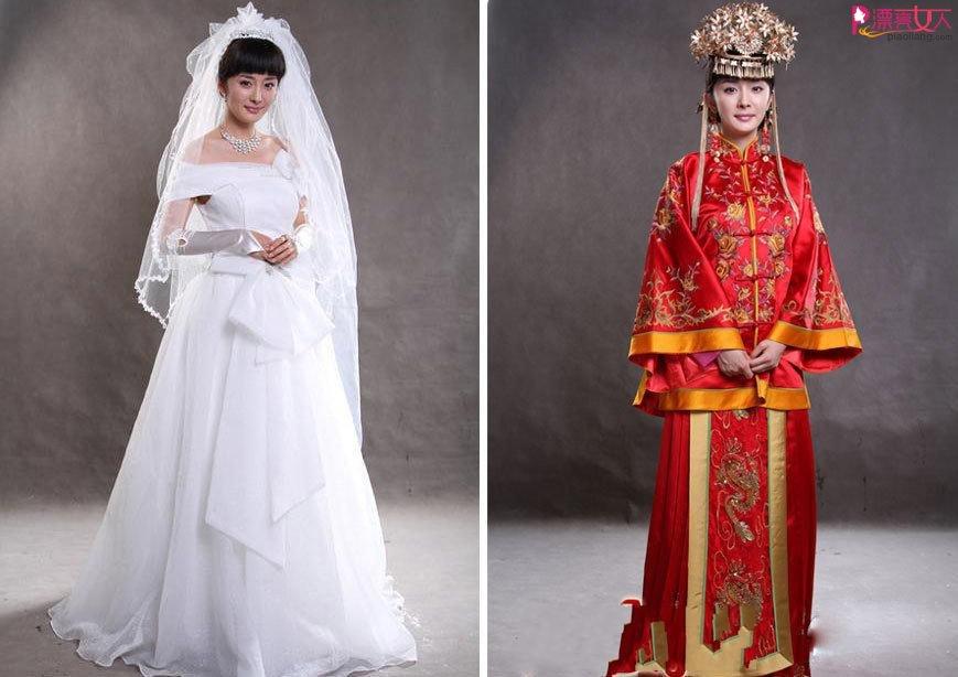 兩種不同感覺的新娘衣