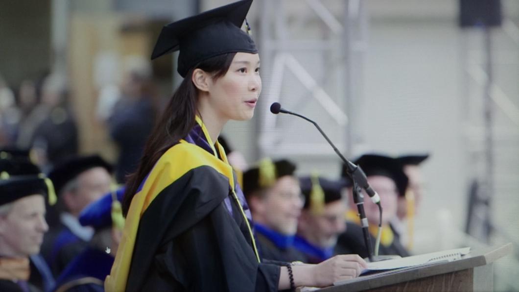 感動!台籍生代表畢業生致詞 創柏克萊150年紀錄