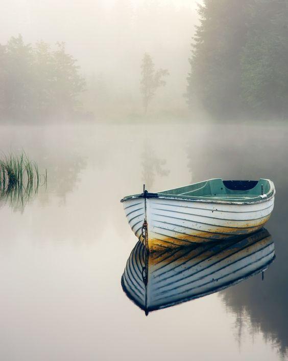 小船的美景