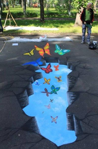街頭創意視覺畫
